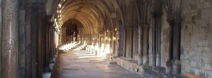 Cloisters in Norwich