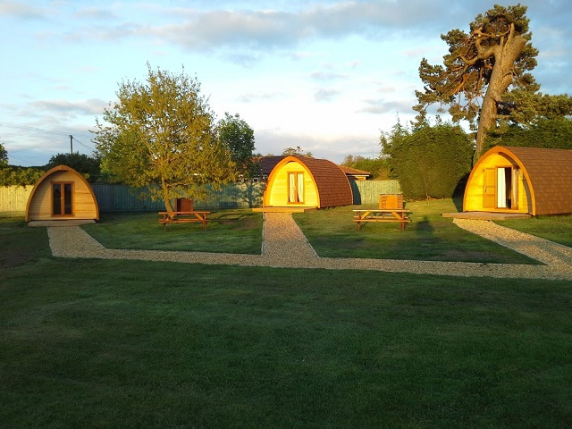Camping Pods at Kings Lynn Campsite