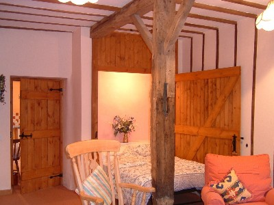 Double Bedroom in Barn Owl Cottages Chedgrave in Norfolk