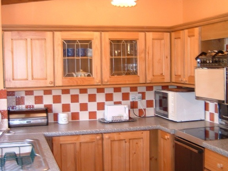 Kitchen in Barn Owl Cottages