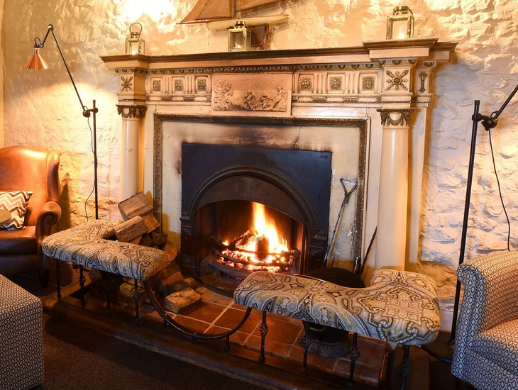 Fireplace at The Lifeboat Inn.jpg