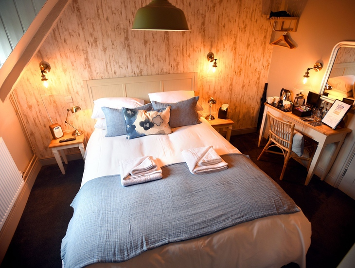 Bedroom at The Lifeboat Inn Thornham.jpg