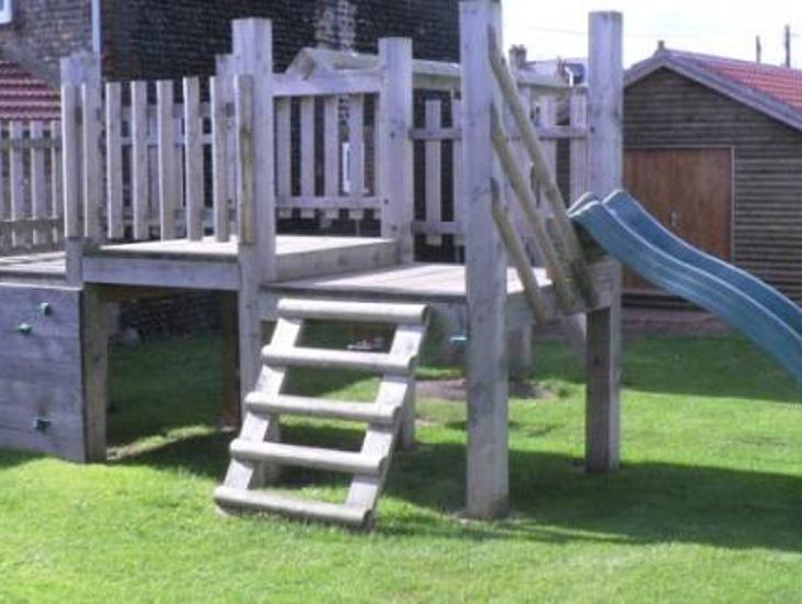 Childrens Play Area At The Leas