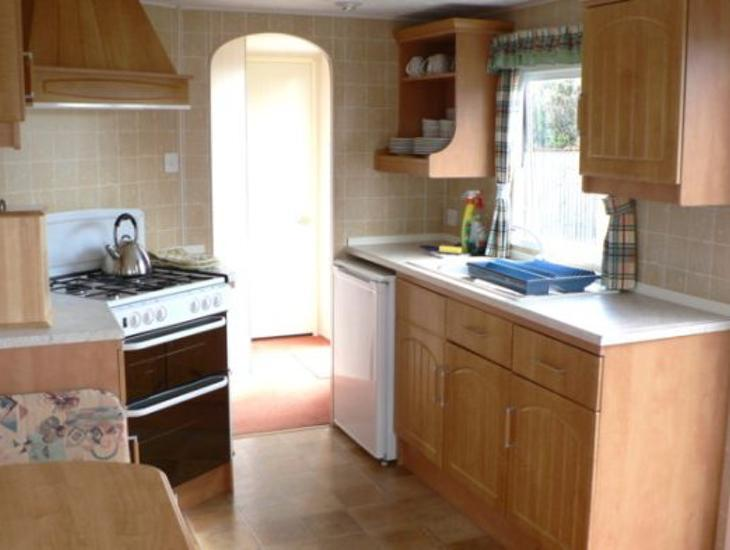 The Leas Caravan Kitchen