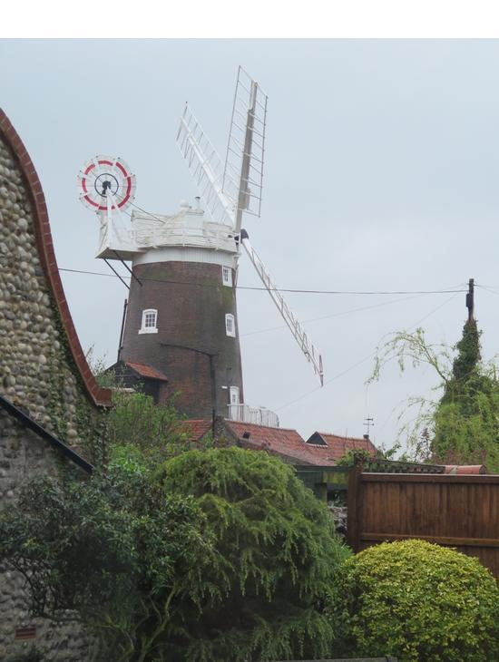 Cley Mill From The Garden
