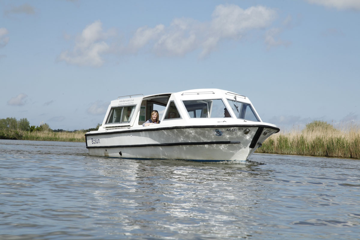 Waveney River Centre Dayboat