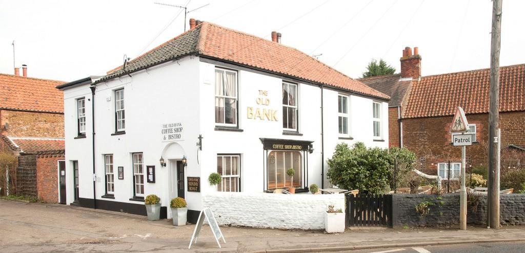 Old Bank Bistro in Snettisham in Norfolk