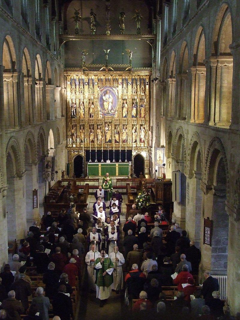 Wymondham Abbey Inside