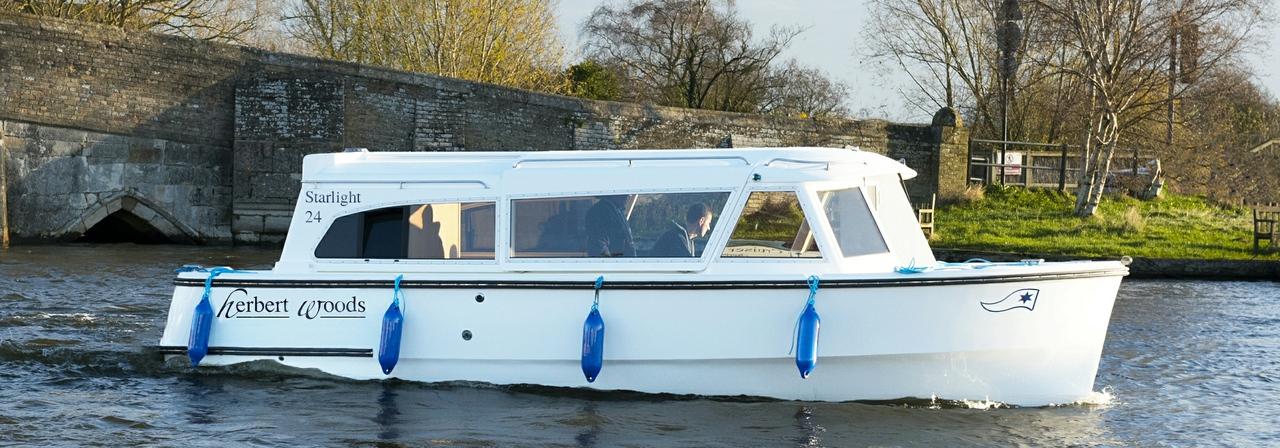 Herbert Woods Starlight Day Boat Hire