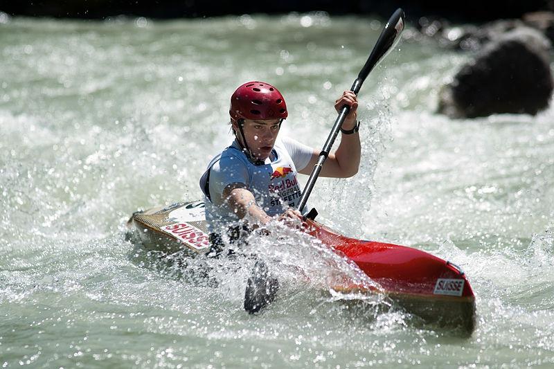 Hunstanton Kayaks Man Kayaking