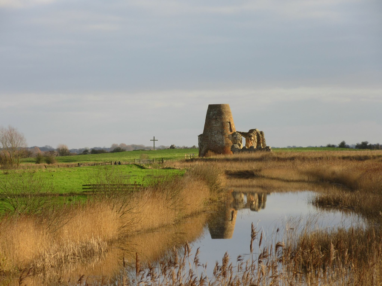 St Benets Abbey River