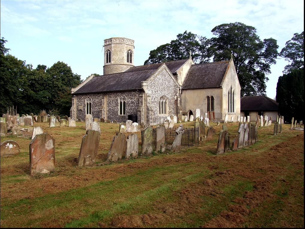 St Mary's Church Watton External