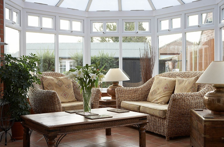 Boxwood in Wells, Norfolk conservatory interior