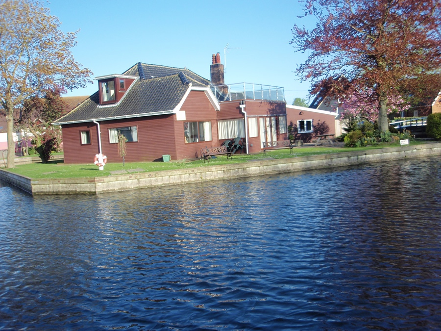 Eagle Lodge in Horning in the Norfolk Broads