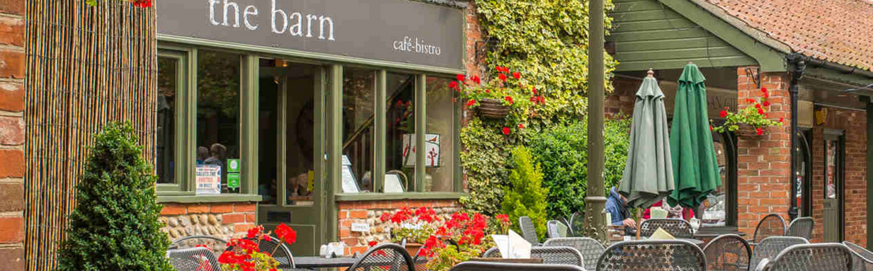 The Barn Cafe in Holt North Norfolk