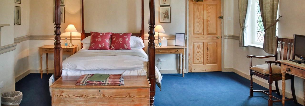Bucks Arms B&B Room Blickling Norfolk