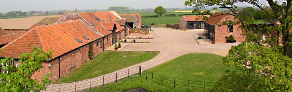 Wheatacre Hall Barns on the Norfolk Suffolk Border