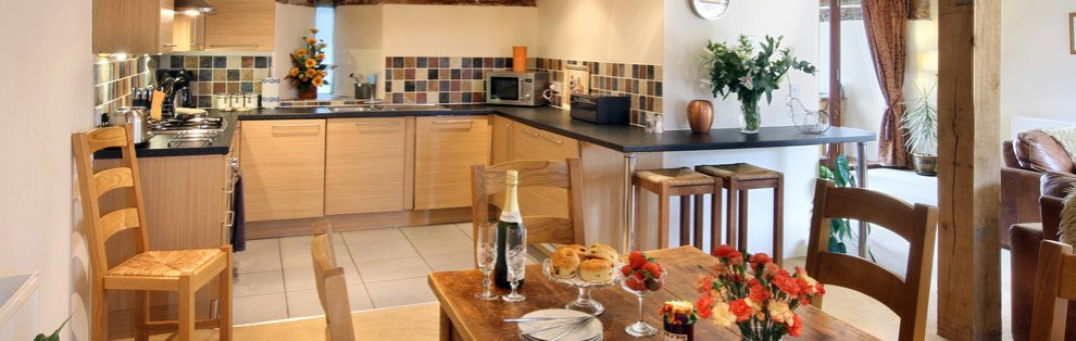 A Kitchen in one of the Wheatacre Hall Barns