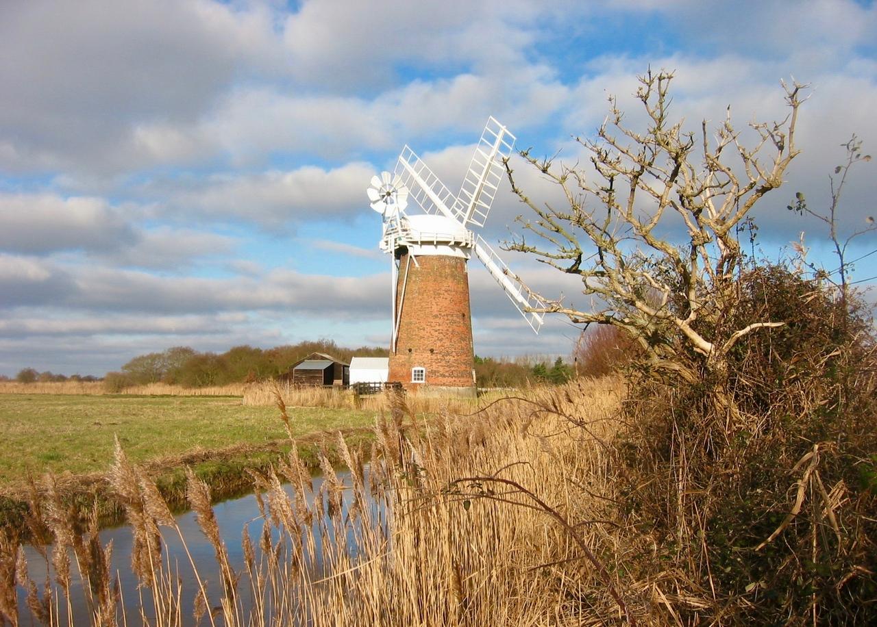Windpump in Horsey on the Norfolk Broads