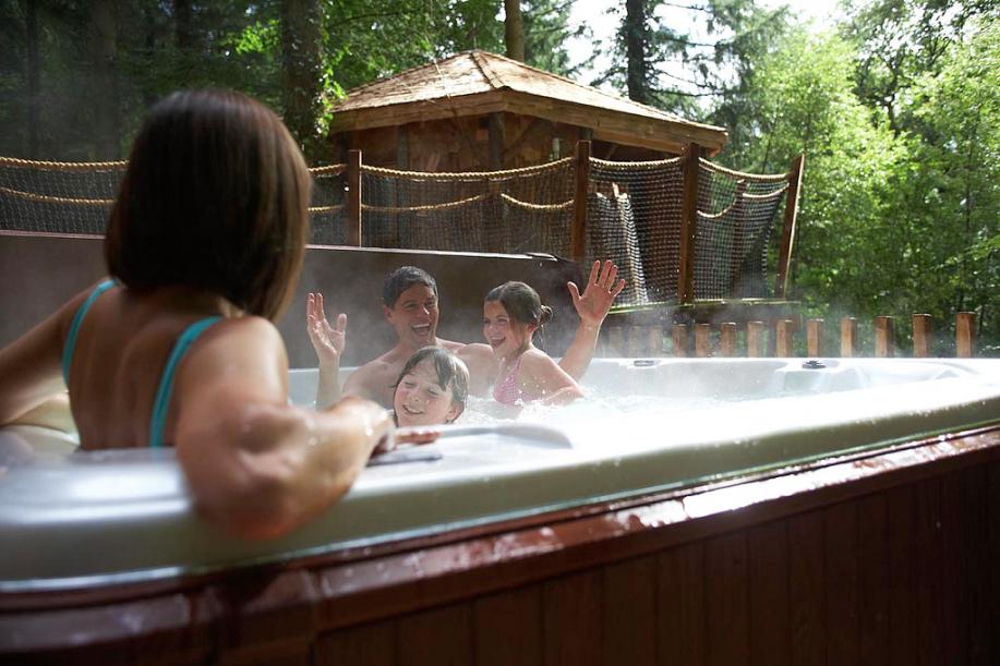 Forest Holidays Luxury Accommodation Hot Tub