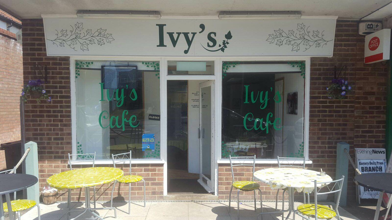 Ivy's Cafe in Norwich