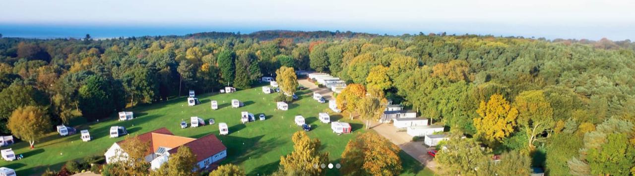 Woodlands Caravan Park Sheringham Over Head View