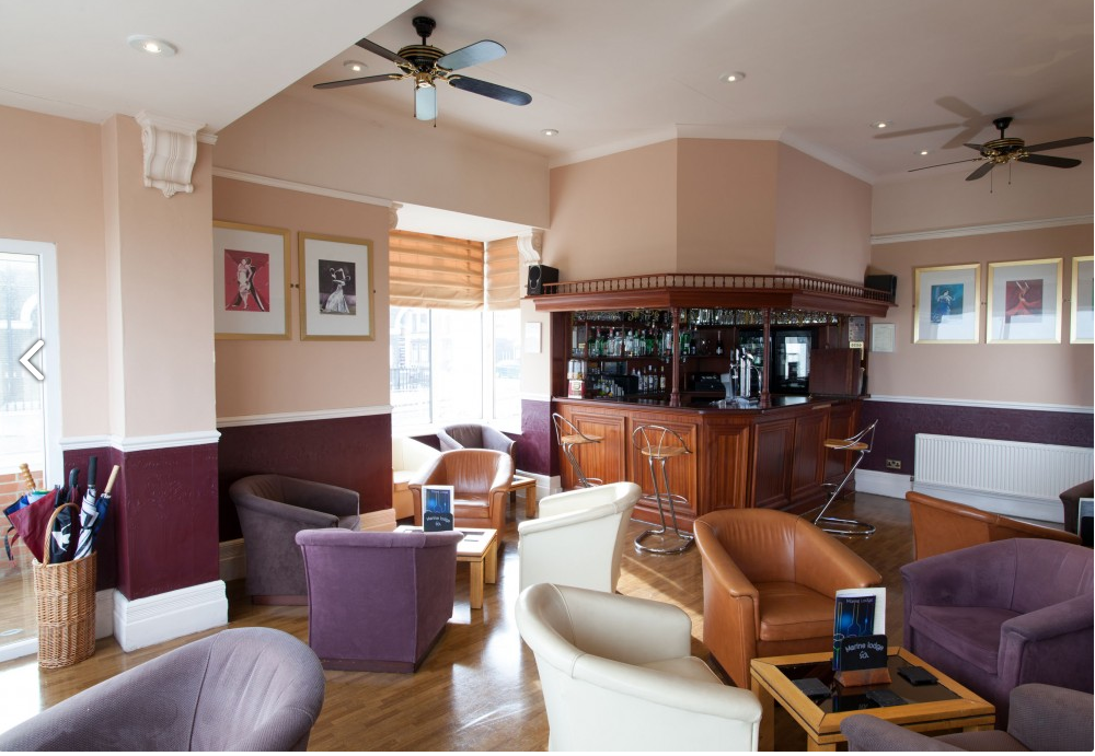 Bar in Marine Lodge Hotel Great Yarmouth
