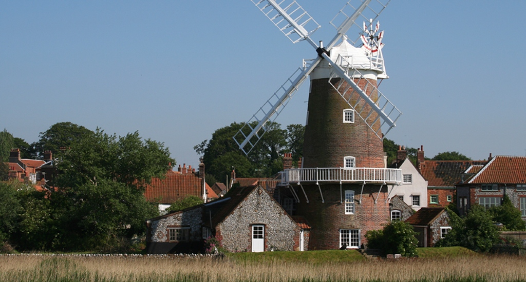 Cley Windmill in Cley-Next-the-Sea