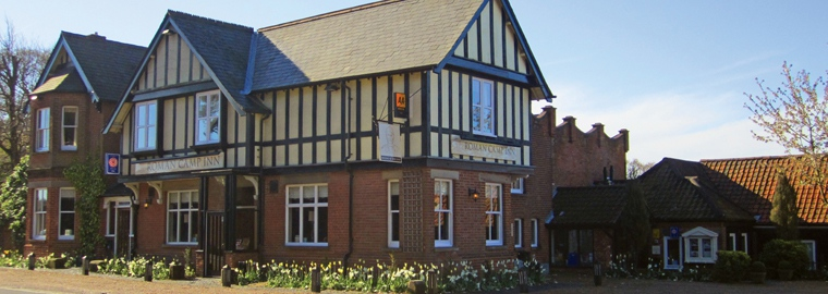 Roman Camp Inn, Aylmerton in North Norfolk