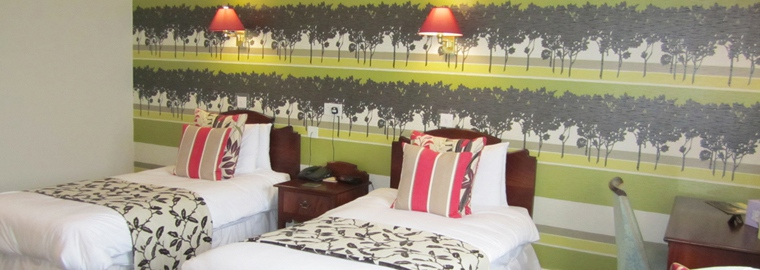 Accessible Ground Floor Double Bedroom at Roman Camp Inn