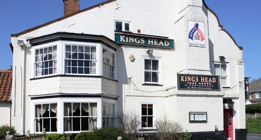 Kings Head Pub in Coltishall in Norfolk