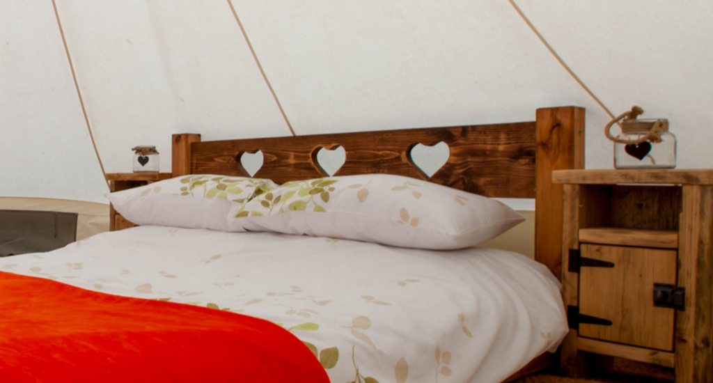 Bell Tent Bedroom