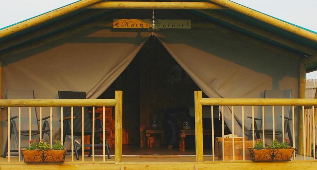 Luxury Tent Verandah
