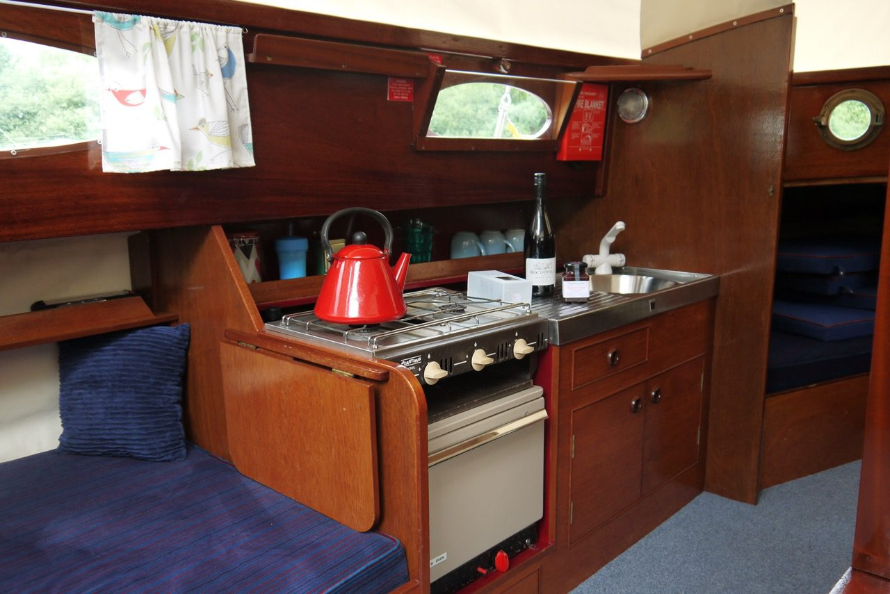 Galley On Bright Spark