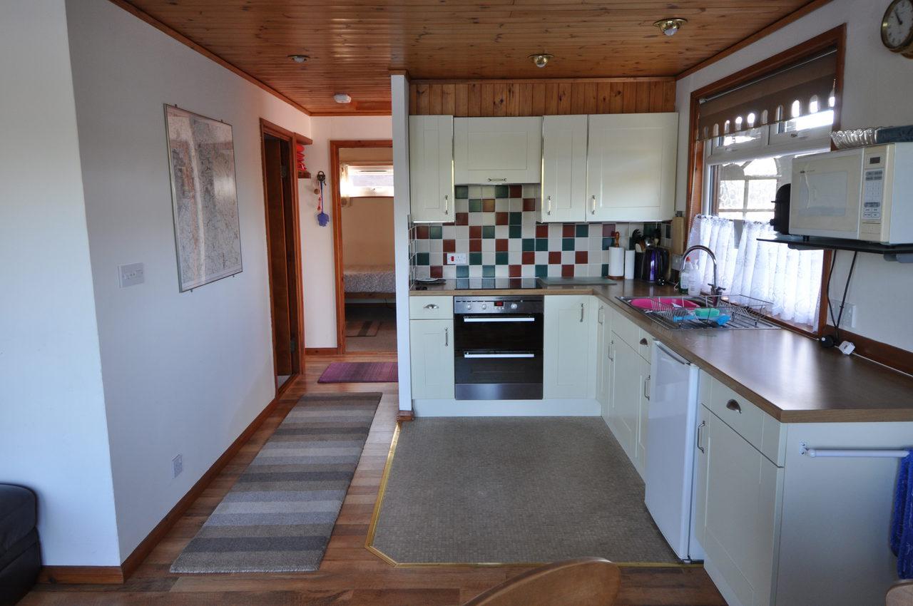 Kitchen In Moonshine Lodge