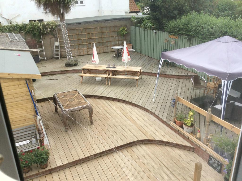 Decking And Patio Of Highfield House