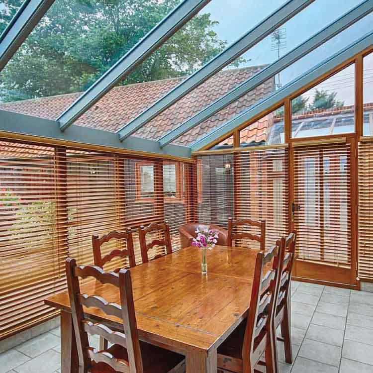 Woodlands Hoiday Cottage Conservtory