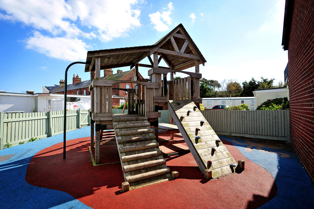 Playground From Arcade End