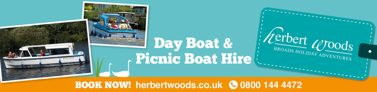 Herbert Woods Banner Day Boat 1140X281