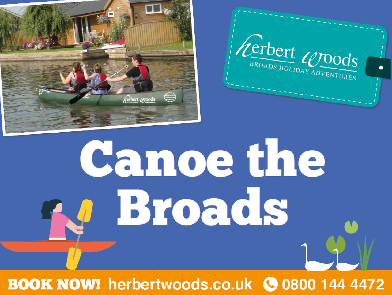 Herbert Woods Banner Canoe 730X550 1