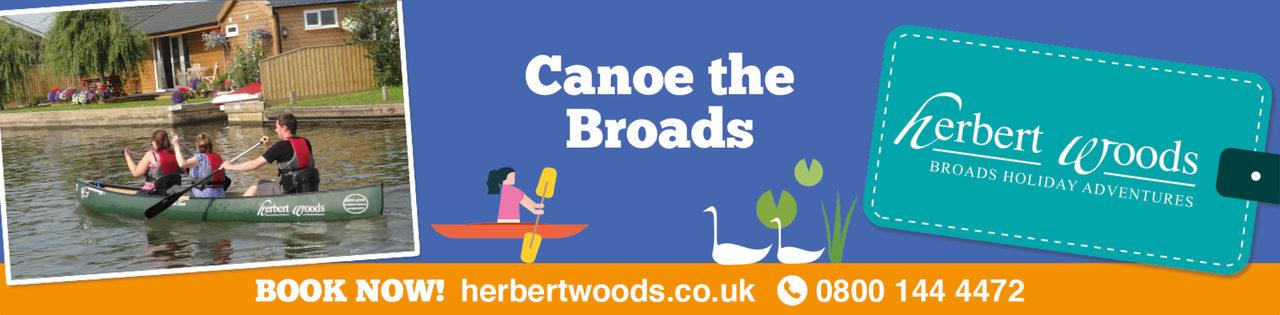 Herbert Woods Banner Canoe 1140X281 1