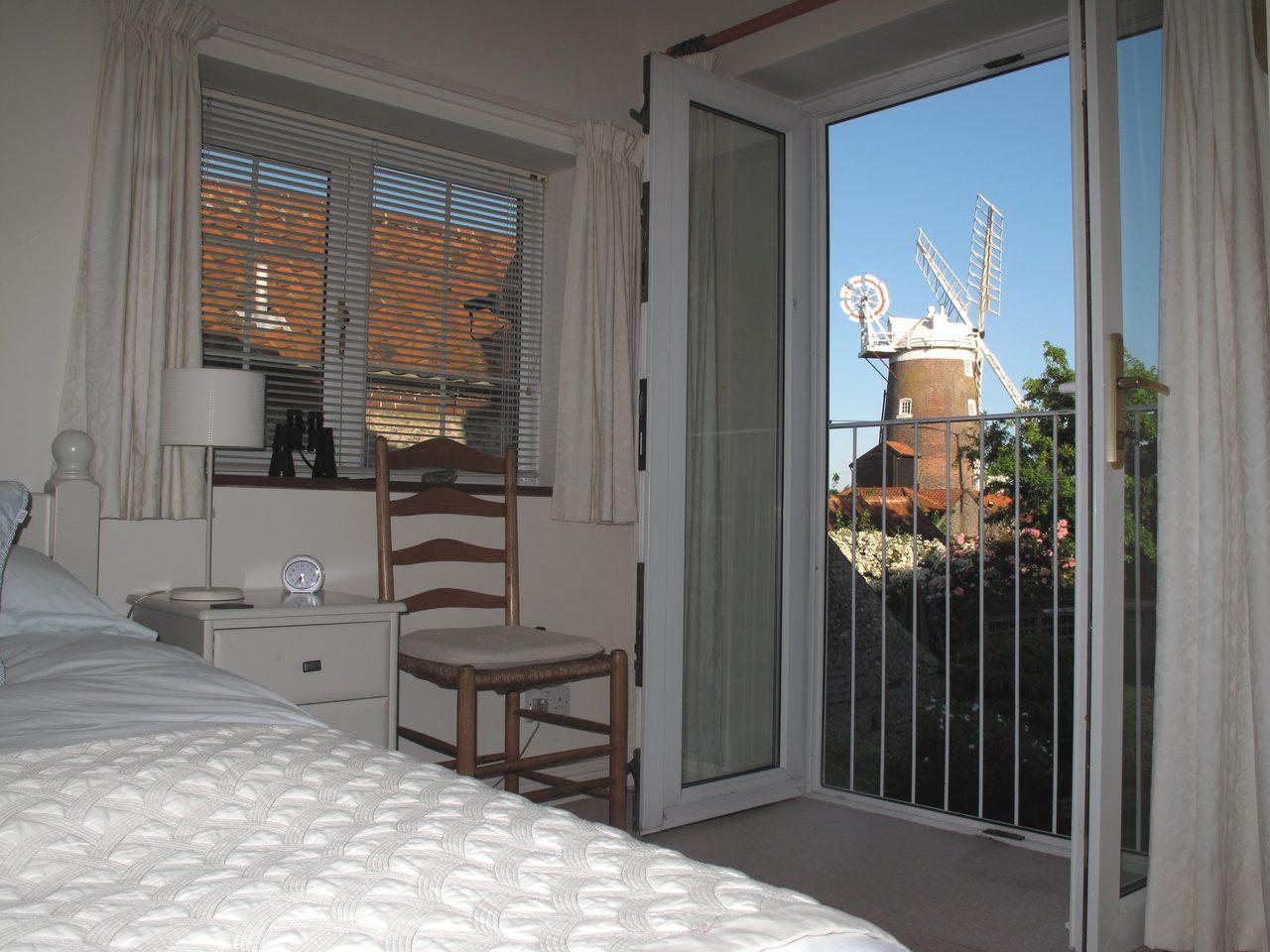 Zetland Cottage Double Bedroom View