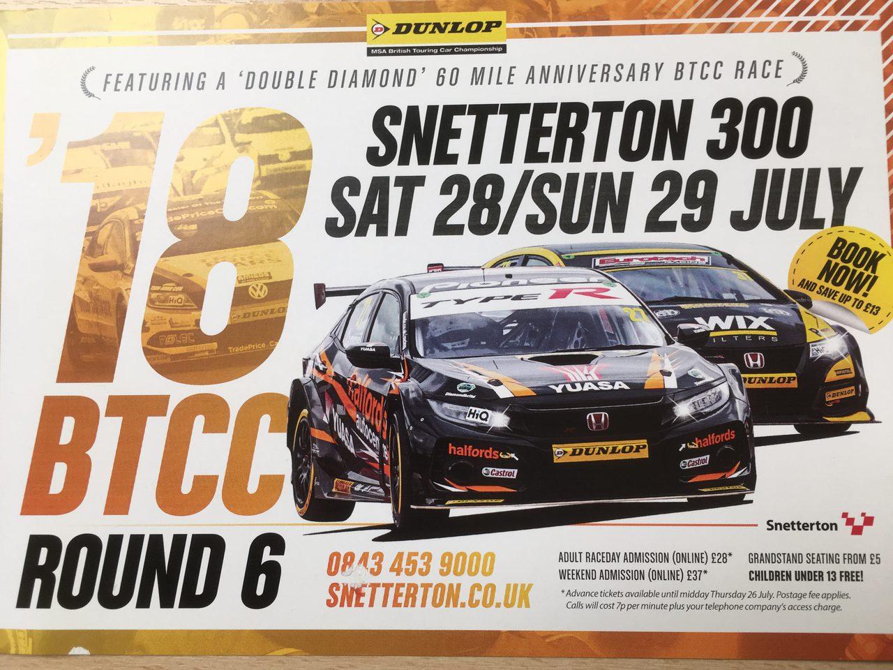 Snetterton 300 2018
