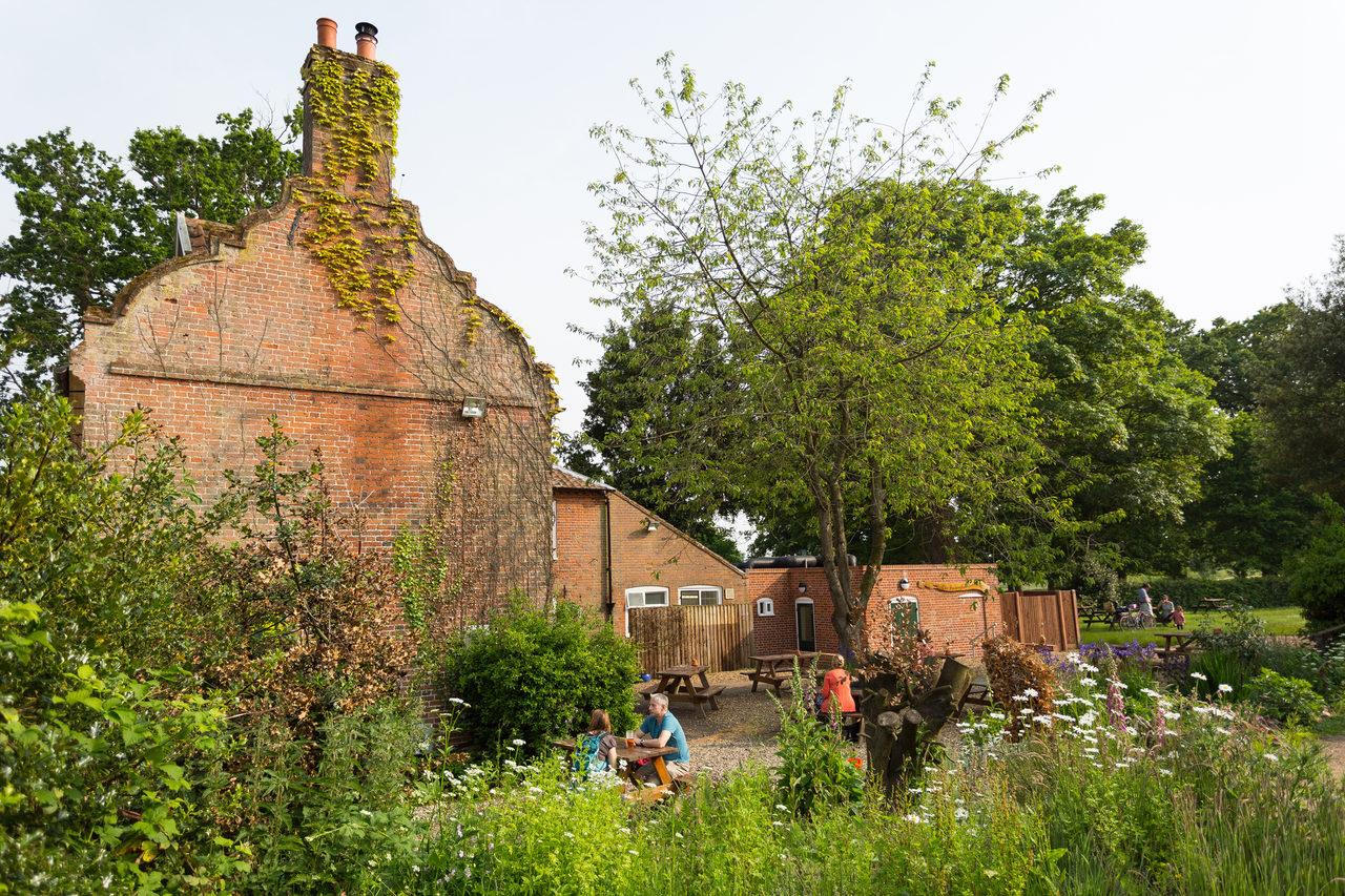 Garden Bucks Courtyard